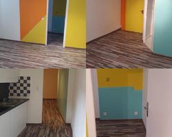 SMP Couleurs du Monde - Aubagne - rénovation peinture