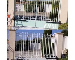 SMP Couleurs du Monde - Aubagne - rénovation peinture portail